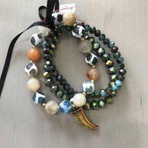 Jewelry - Set of 3 Stretch Bracelets